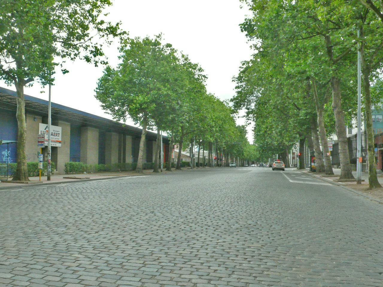 Avenue du Port – contexte urbanistique global