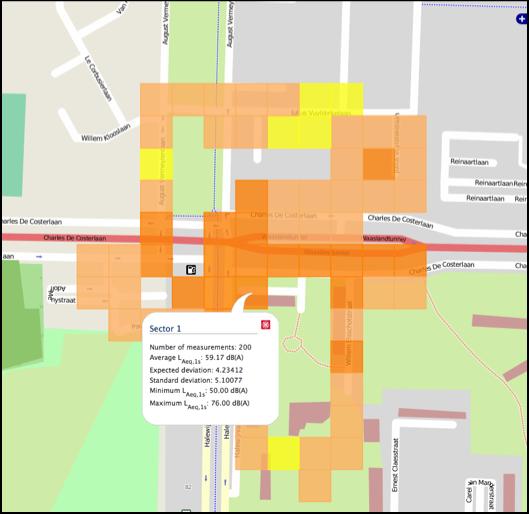 Cartographie participative du bruit