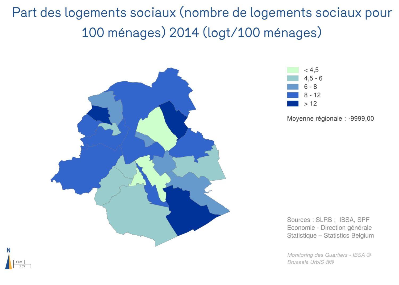 État d'urgence : il faut 40.000 logements sociaux supplémentaires à Bruxelles