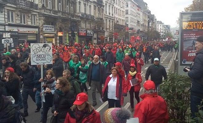 Le piétonnier de Bruxelles exclut la parole politique