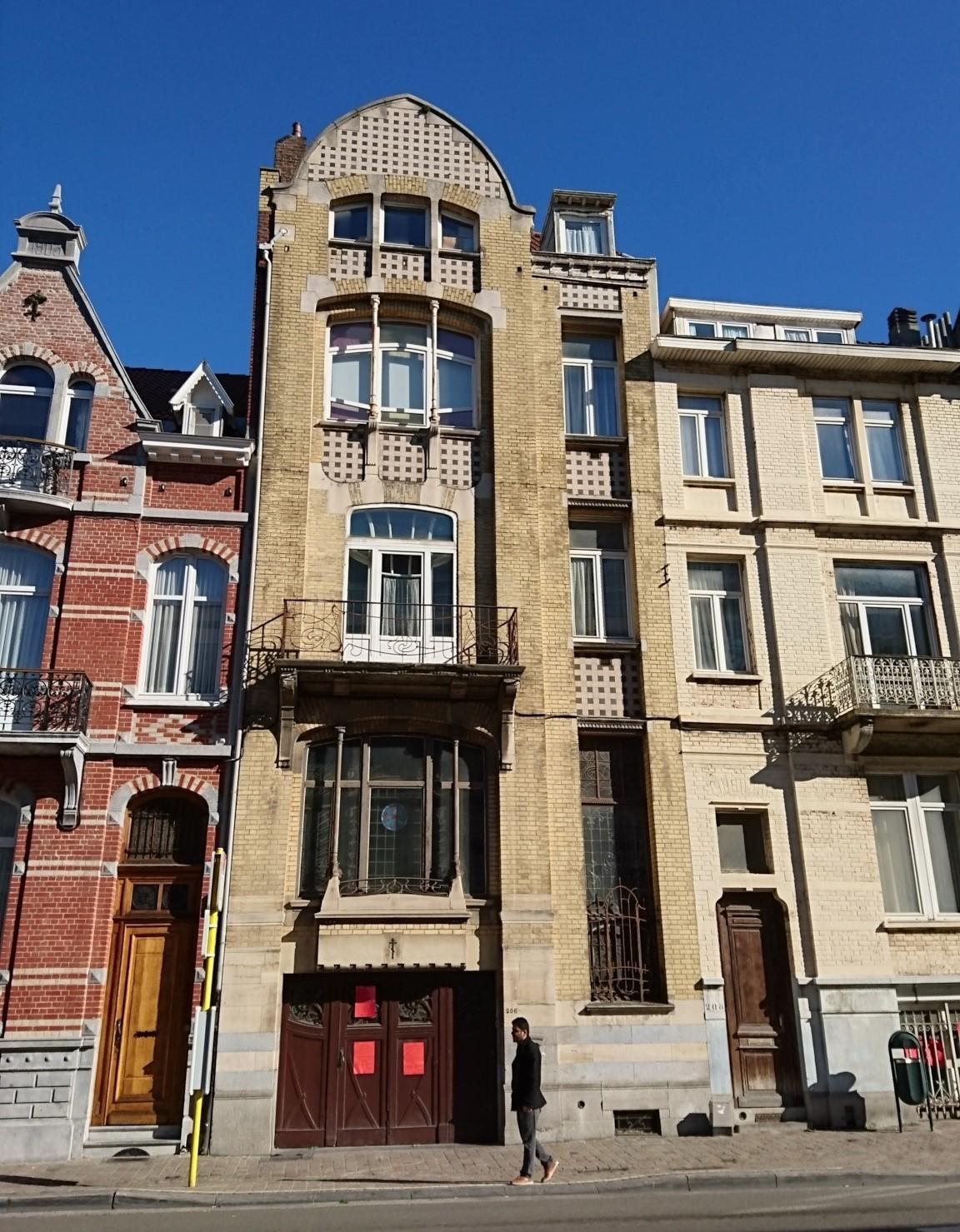 Menace sur une maison Art nouveau à Ixelles !