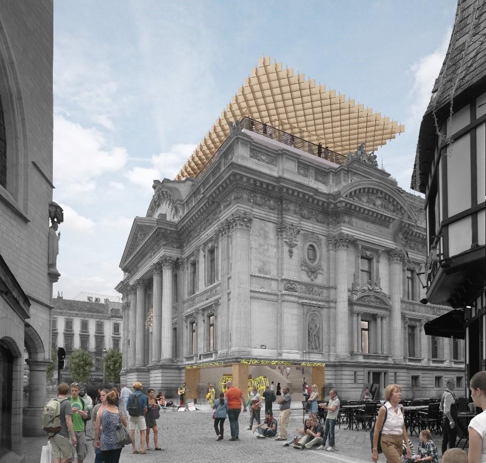 L'OPA de l'empire brassicole sur l'ancien immeuble de la Bourse