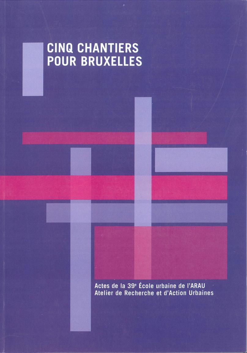 Cinq chantiers pour Bruxelles II