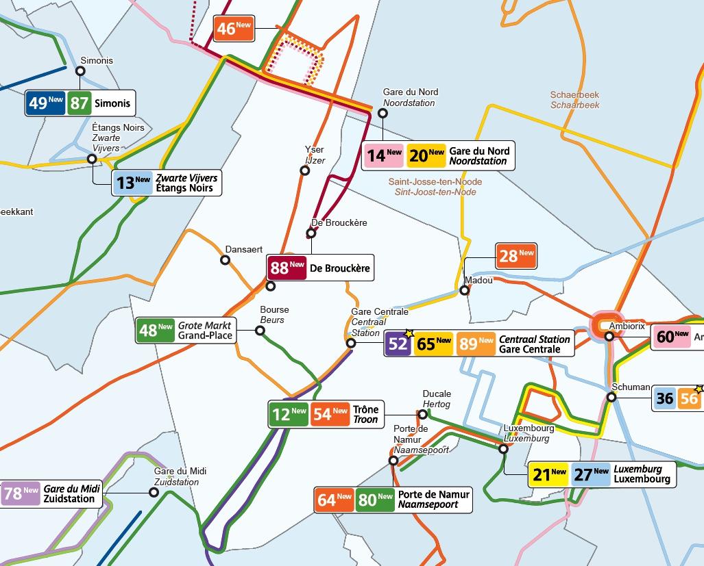 Nouveau plan bus de la STIB : bon plan ?