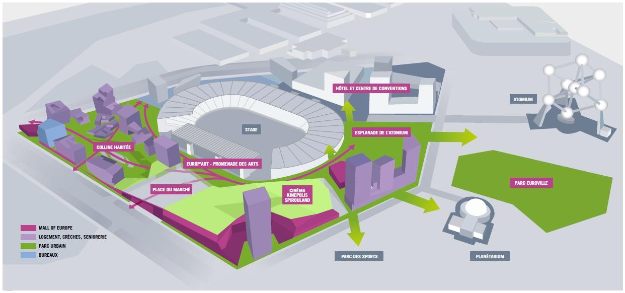 Projet Neo : le retour d'un urbanisme sur dalle en complet déni de réalité