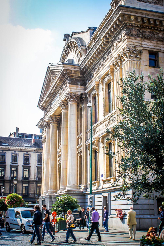 Le Parlement bruxellois doit siéger dans la Bourse
