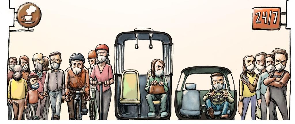 Agir d'urgence pour les usagers des transports en commun