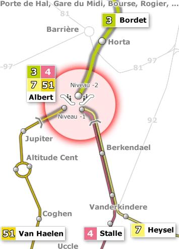 """""""Métroïsation"""" de la station Albert : terminus, tout le monde descend !"""