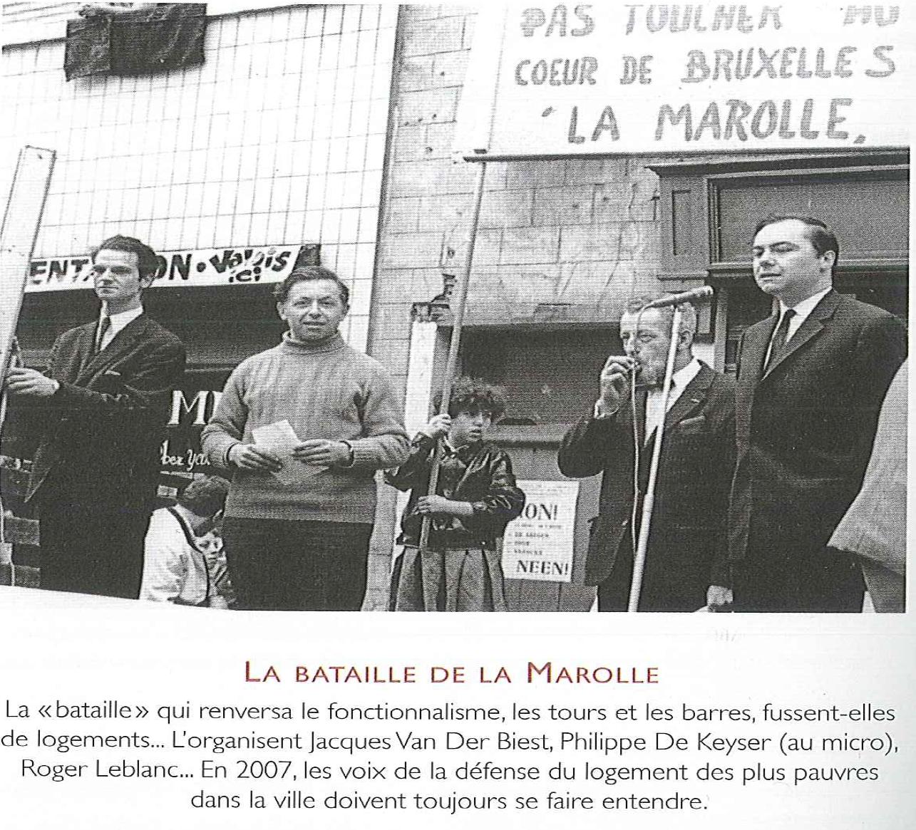 Hommage de l'ARAU à Jacques Van der Biest